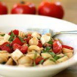 Caprese Salad with Pasta
