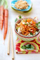 Spaghetti Squash Noodles with Thai Peanut Sauce