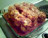 Baked Ham and Cheese Lasagna Rolls