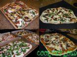 Veggie Mini Pizza Bites (www.cookoutloud.com)