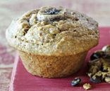Banana-flax breakfast muffin