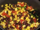 Baja Black Beans and Corn