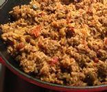 Kat's Taco Meat w/Rice