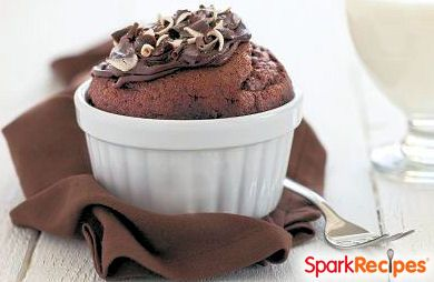 ... breakdown of Five Minute Chocolate Mug Cake calories by ingredient