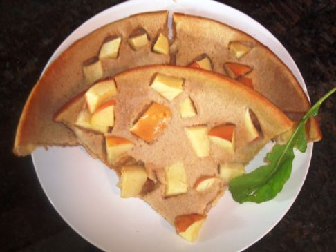 Apple & Cinnamon Puff Pancakes