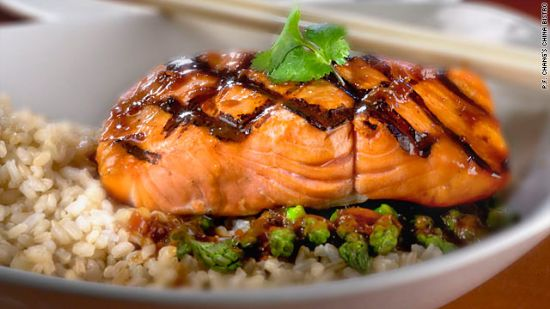 Salmon Rice Lunch