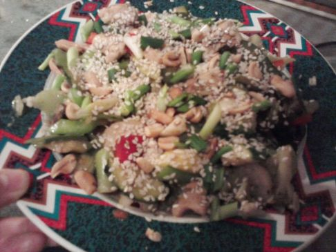 Weight Watchers Szechuan Chicken with Peanuts