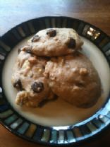 Banana Dark Chocolate Pecan Scones