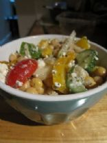 Greek Salad w/ Chickpeas