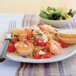 Garden shrimp Pasta