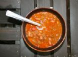 Beef & Bean Chile Verde / revised from Eating Well recipes