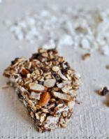 Chewy Coconut Granola Bars