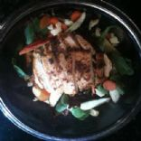 Andi's Blackened Chicken Salad with Private Reserve Cheddar, Apples, and Champagne Vinegrette
