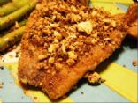 fANNEtastic Food's Almond Crusted Tilapia