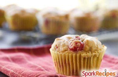 Whole-Grain Berry Muffins