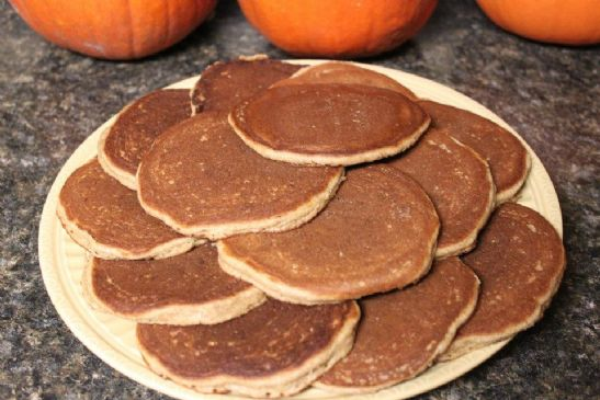 Whole Grain Sourdough Pancakes