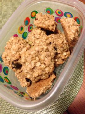 energy blend trail mix cookies