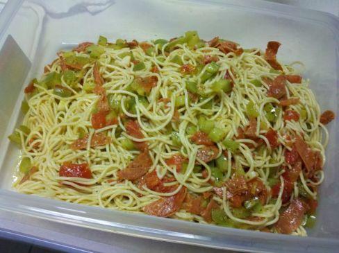 Pepperoni Spaghetti