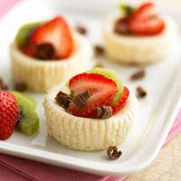 Low-Calorie Mini Cheesecakes