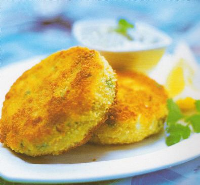 Light & Crunchy Fishcakes