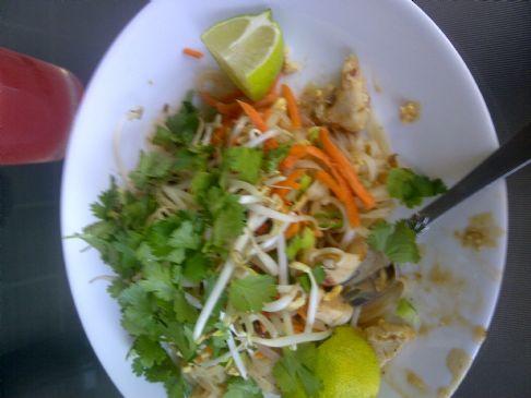 Pad Thai on the Skinny