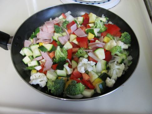 Scrambled Veggies