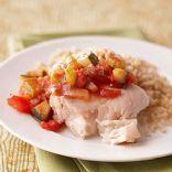 Fresh Gazpacho Chicken