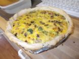 Mommy and Nina's super veggies and cheese quiche