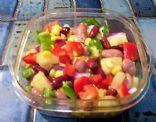 Pineapple Vegetable Salsa