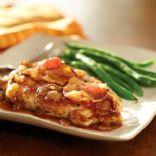 Chicken w/ Cider & Bacon Sauce