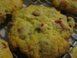 Cranberry Orange Scones from Epicurious
