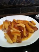Apple Topped Pork Chops