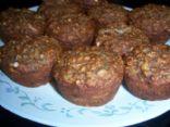 Oatmeal Banana Muffins