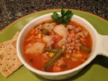 Ground Turkey  Vegetable Soup