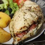 Bacon-Feta Stuffed Chicken Breast