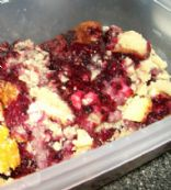 Sugar Free Blackberry Cobbler made with Xylitol