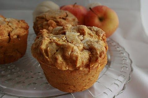 Pumpkin Apple Love Muffins