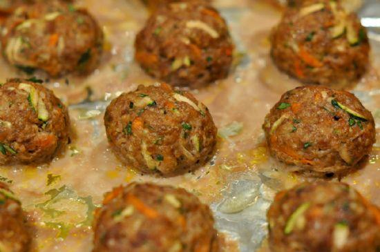 Bison Quinoa Meatballs