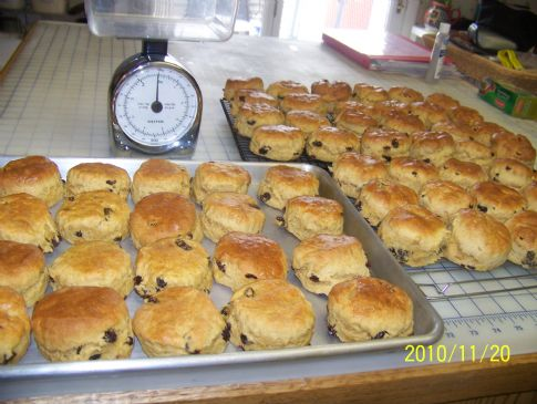 NORASPAT makeover Grans recipe ENGLISH SCONES