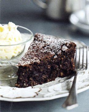 Chocolate & Roasted Hazelnut Cake - Torta Gianduja