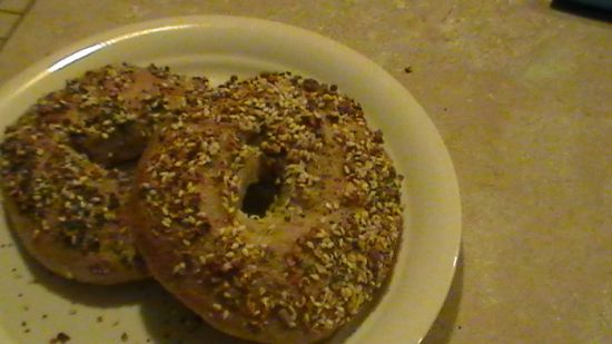 Honey Wheat Everything Bagel