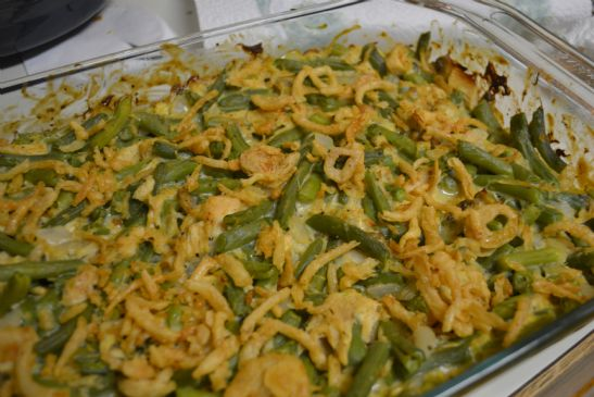 Turkey Green Bean Casserole