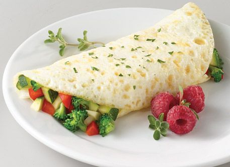 how to prepare egg white omelette
