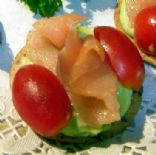 Smoked Salmon and Avocado