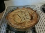 Ratio Strawberry and Rhubarb Pie