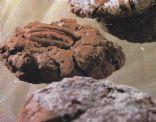 Crinkle Fudge Truffle Cookie