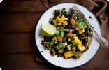 Black Rice and Edamame Salad with Mangos and Peanuts
