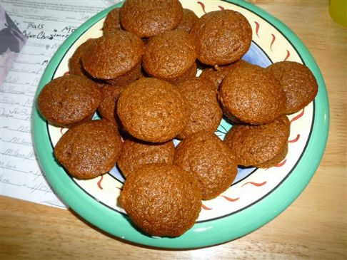 Gingerbread Mini Muffins