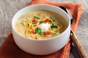 Primal Bacon & Cauliflower Soup