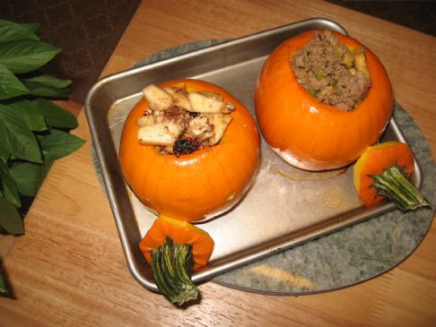Fall Stuffed Pumpkin